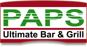 Pap's Ultimate Bar and Grill Restaurant logo